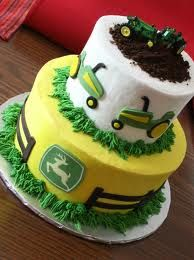 Farming Tractor Cakes 4 | John Deere, John Deere Cakes and Cakes