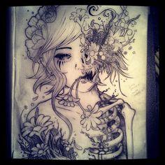 Flower girl. Wonderland, Artsy, Flowers, Design, Royal Icing Flowers, Flower, Florals, Floral