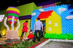 Aniversário infantil Peppa Pig. Inspiração para festa de criança. /  Children's Birthday Peppa Pig. Inspiration for kid's party.