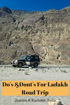 Dos and Donts for Ladakh Road Trip - All Gud Things Dos and Donts for Ladakh Road Trip Leh -Ladakh, the Land of high passes is the dream land of every adventurist. Do keep these pointers in mind before heading for Ladakh road trip. Road Trip Packing, Road Trip Hacks, China Travel, India Travel, Travel Guides, Travel Tips, Travel Articles, Travel Advice, Leh Ladakh