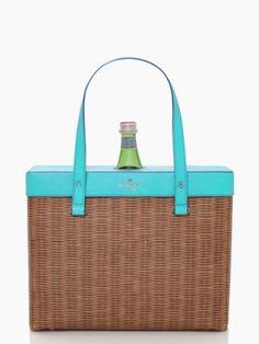 pack a picnic wine tote