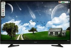 Panasonic 109cm (43 inch) Full HD LED Smart TV (TH-43ES480DX) At Rs.35999 From Flipkart