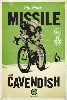 The Missile - Mark Cavendish.