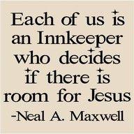 innkeeper for jesus