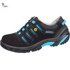 Abeba Uni6 Chaussure de sécurité bas ESD Taille 36 Noir/Bleu - Chaussures  abeba (