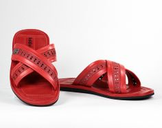 Italian Shoes, Love At First Sight, Red Leather, Italy, Touch, Boutique, Sandals, Italia, Shoes Sandals