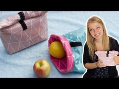 How to Make Diy;Nastja shows you how to make a practical lunch bag. The bag is made of oil cloth … - How to Make Diy Diy Couture, Couture Sewing, Creation Couture, Sewing For Beginners, Diy Clothes, Diy Tutorial, Knitting Patterns, Crochet Patterns, Sewing Projects
