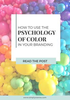 Each color conveys certain emotions and feelings, make sure your brand colors evoke the right emotions by keeping the psychology of color in mind. Color Psychology Marketing, Marketing Colors, Psychology Facts, Psychology Experiments, Social Media Branding, Branding Your Business, Creative Business, Corporate Branding, Business Branding
