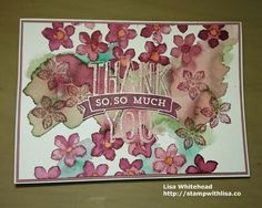Crazy Crafters July Blog Hop-Special Guest Tracy May   Stamp With Lisa