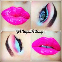 Barbie inspired make up!