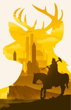 Game of Thrones Baratheon Könige Landing Stag Kunstdruck Silhouette Poster 11 x 17 - Game Of Thrones Illustrations, Game Of Thrones Artwork, Game Of Thrones Fans, Vector Illustrations, Winter Is Here, Winter Is Coming, Game Of Throne Poster, Game Of Thrones Instagram, Game Of Thones