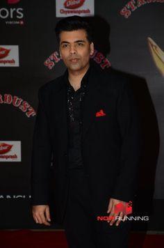 Karan Johar at Sansui Stardust Awards Red Carpet