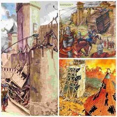 Anatomía de un Asedio Medieval