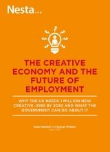 The creative economy and the future of employment | Nesta