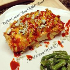 Buffalo Cream Cheese Stuffed Chicken  | #recipe | In The Kitchen With KP