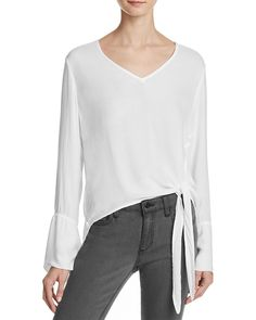 98.00$  Watch now - http://vieey.justgood.pw/vig/item.php?t=eclmsif18920 - Bella Dahl Side-Tie Blouse 98.00$