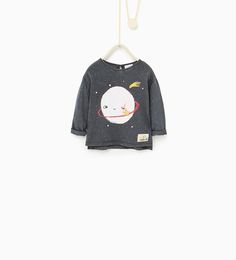 Planets top-T-SHIRTS-Baby girl-Baby | 3 months - 3 years-KIDS | ZARA United States