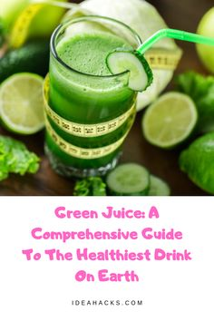 Looking for a healthy drink? Look no further than green juice. Known as one of the healthiest drinks, green juice is loaded with vitamins, minerals, and other health benefits. On top of that, it also Healthiest Drinks, Healthy Drinks, Natural Health Remedies, Herbal Remedies, Green Juice Benefits, Clean Eating Soup, Kid Drinks, Eating Organic, Nutritional Supplements