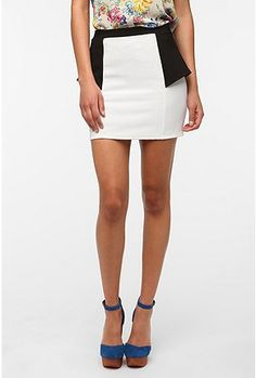 Sparkle & Fade Peplum Pencil Skirt- wishing I could pull this off?