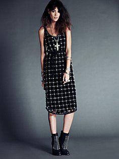 FP New Romantics Material Girl Lattice Dress in clothes-dresses-party