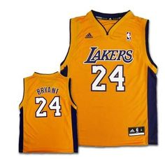 NBA Youth Los Angeles Lakers Kobe Bryant Replica Home Jersey - R28E5Kka (Gold, X-Large) Get Your Future Nba Star Outfitted In The Same Jersey As Their Nba Superstar With The Official Nba Replica Jersey By Adidas.