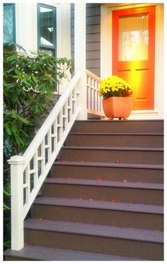 Orange on Antrim Street.  DiscoverMidCambridge.com