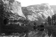 Hetch Hetchy Valley, prior to construction of the O'shaughnessy Dam