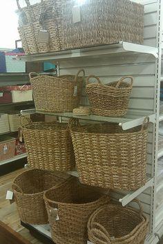 LOVE the baskets at #HomeGoods! #HappyByDesign #NYCLQ Lynda Quintero-Davids #FocalPointStyling #PHX #AZ