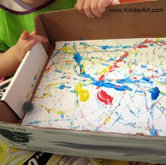 KinderArt® Blog - Art Lessons and Lesson Plans for Kids (Toddler, Preschool, Elementary and Beyond): Don't Lose Your Marbles!