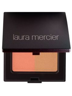 fall in love with this blusher and bronzer. The perfect shade of bronzer and the nicest pop of peach on your cheeks to make them a beautiful shade of pink.