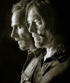 RICK AND DARYL - BROTHERS IN ARMS!