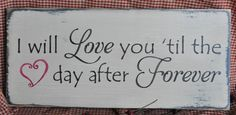 Primitive Rustic Western Country I Will Love by theprimitivebarn1, $12.99