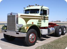 Peterbilt 358 owned by the I80 trucking museum