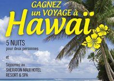 Gagnez un voyage pour 2 personnes à Hawai! - Quebec echantillons gratuits Maui, Free Samples