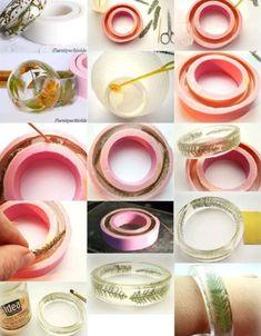 Resin Jewlery, Resin Jewelry Making, Resin Ring, Diy Resin Crafts, Jewelry Crafts, Handmade Jewelry, Epoxy Resin Art, Resin Tutorial, Jewelry Illustration