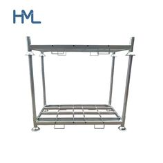 High Quality Industrial Galvanized Forklift Warehouse Storage Metal Steel Rack, Model NO.: HML-M2 Weight: 1500 Kg Closed: Open Development: Conventional Serviceability: Common Use Company Type: China Professional Manufacturer Product Warranty: 1 Year M2-Base: 1875L*1060W*310 mm M2-Post: 1200L*60W*2.5 mm Load in 40hq: 150 Sets Loading Capacity: 1500kg Stackability: 4 High Color: Optional Finish: Hot DIP Galvanized Remark: Customized and OEM Support Product Shelf Life: up to 3 or 5 Years… Steel Storage Rack, Steel Racks, Roll Cage, Tubular Steel, Shelf Life, Outdoor Storage, 5 Years, Space Saving, Storage Spaces