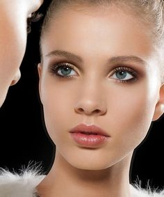 When grooming your brows, always brush upwards and outwards for a fuller look.
