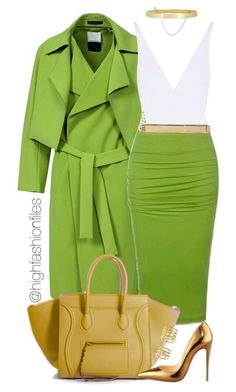 Vert - achetez ce look - Fashion! Classy Outfits, Casual Outfits, Cute Outfits, Fashion Outfits, Womens Fashion, Fashion Trends, Shop This Look Outfits, Looks Style, Style Me