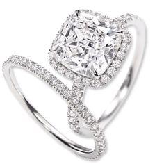 Harry Winston Micropavé Ring