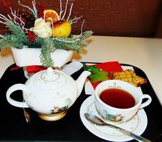 Tè aromatizzato tropicale   Chá aromatizado tropical   Mango, maracuja, banane, ananas Emoticon wink #chazinhodatarde #tè