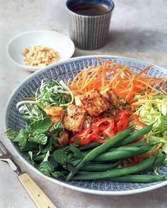 Cambodian Style Tofu Salad