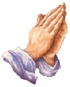 FAITH — MAKE IT REAL! Praying Hands Cross-Stitch Pattern, free download