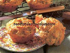 Cupcakes de queso y finas hierbas