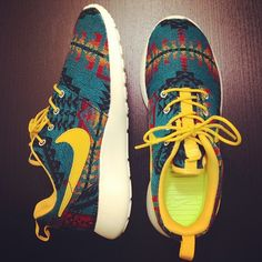 Pretty sure I just died and went to heaven! Pendleton Nikes??? Somebody pinch me I need to wake up from this dream!