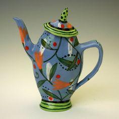 Nancy Gardner teapot