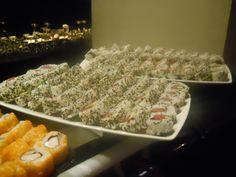 ¡Mucho sushi para disfrutar en Nau Lounge en nuestro Sushimania!