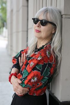 Sabine Reichel - Advanced Style