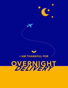 i am thankful for overnight delivery. share #abowlofthanks from kraft mac & cheese.