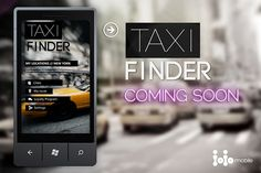 Taxi Finder - global app for #WindowsPhone. Coming soon! www.taxifinder.eu