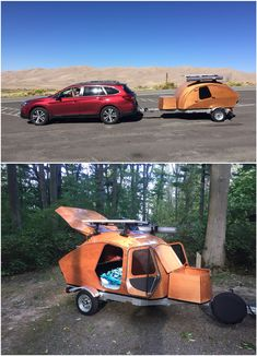 Build-your-own Teardrop Camper Kit and Plans Teardrop Camper Plans, Teardrop Trailer, Camper Trailers, Rv Camping, Build Your Own, Campervan, Tents, Billboard, Volvo
